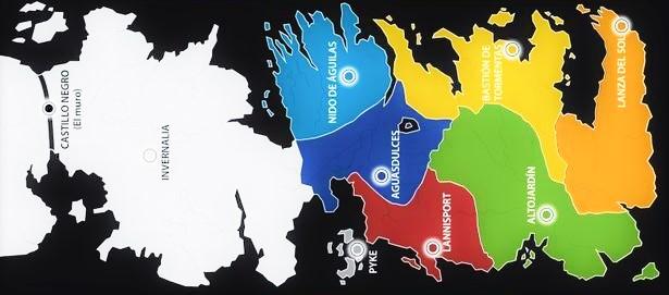 Tienda de mapas de Juego de Tronos