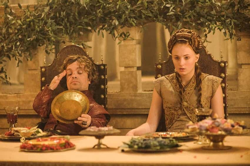 Boda de Tyrion Lannister y Sansa Stark
