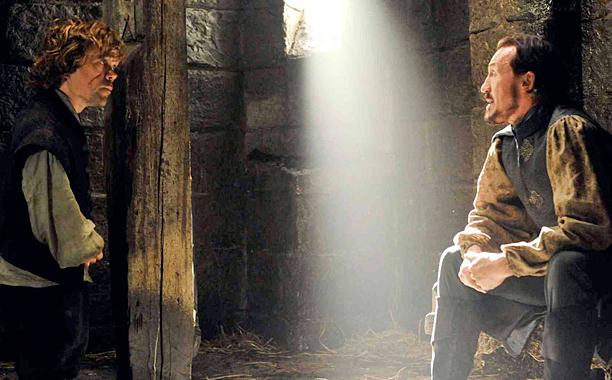 Tyrion y Bronn en el Nido de Aguilas
