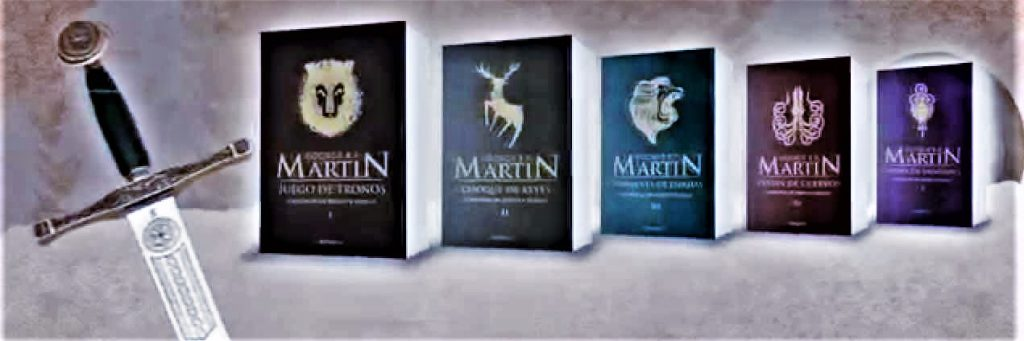 Colección de A song of Ice and Fire