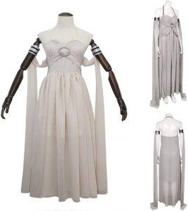 Disfraz De Madre De Dragones (Ropa De Daenerys Targaryen), Conjunto De Vestido De Hielo Y Fuego