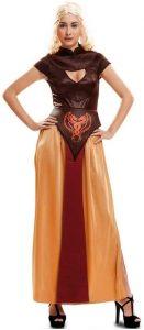 Disfraz Reina de Dragones guerrera Mujer