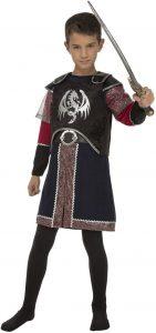 Disfraz de guerrero de dragones para niño