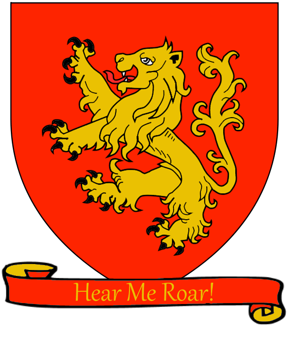 Escudo Casa Lannister familia de Tyrion Lannister