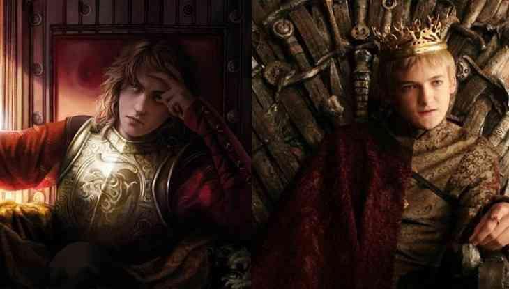 Geoffrey Baratheon diferencias entre serie y libro