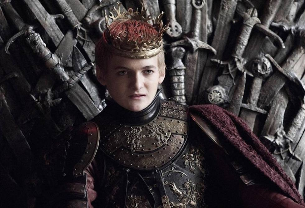 Joffrey Baratheon sobrino del Enano de Juego de Tronos
