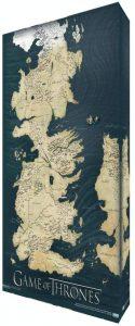 Mapa Juego de Tronos de lona