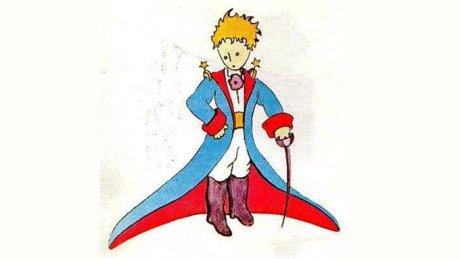 ilustración original de el principito