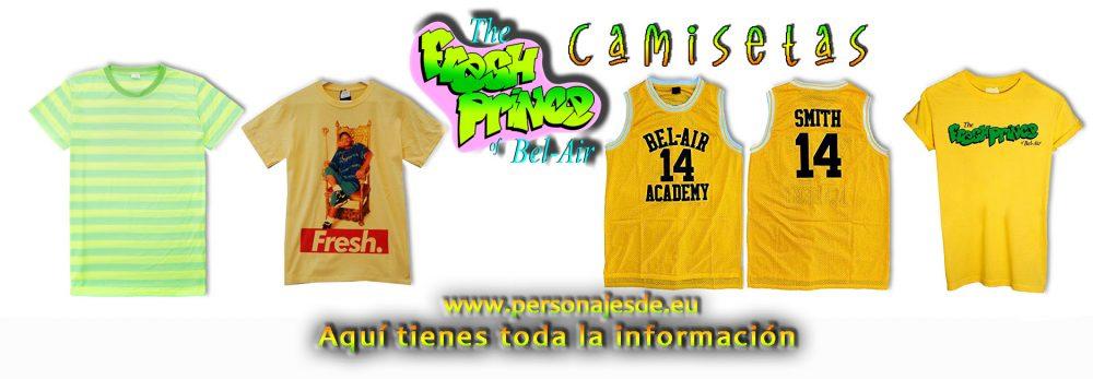 Camiseta del Príncipe de Bel Air