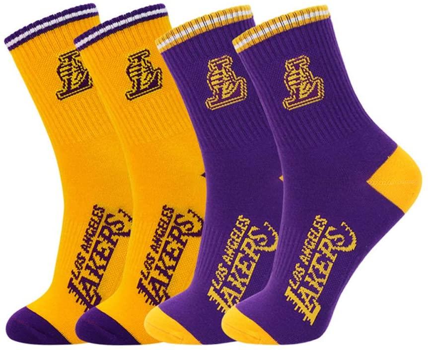Calcetines LA Lakers estilo ropa el Príncipe de Bel Air