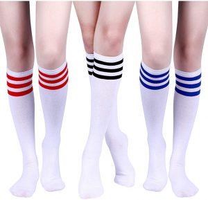 Ropa el Príncipe de Bel Air, calcetines retro a rayas