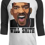 Camiseta retro Will Smith gritando