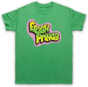 Camiseta verde con logo The Fresh Prince