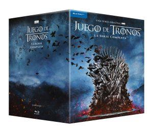 Colección completa de la serie Juego de Tronos temporadas 1 a 8