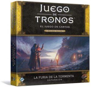 El juego de cartas de Juego de Tronos, expansión La furia de la tormenta