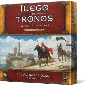 El juego de cartas de Juego de Tronos, expansión Las arenas de Dorne