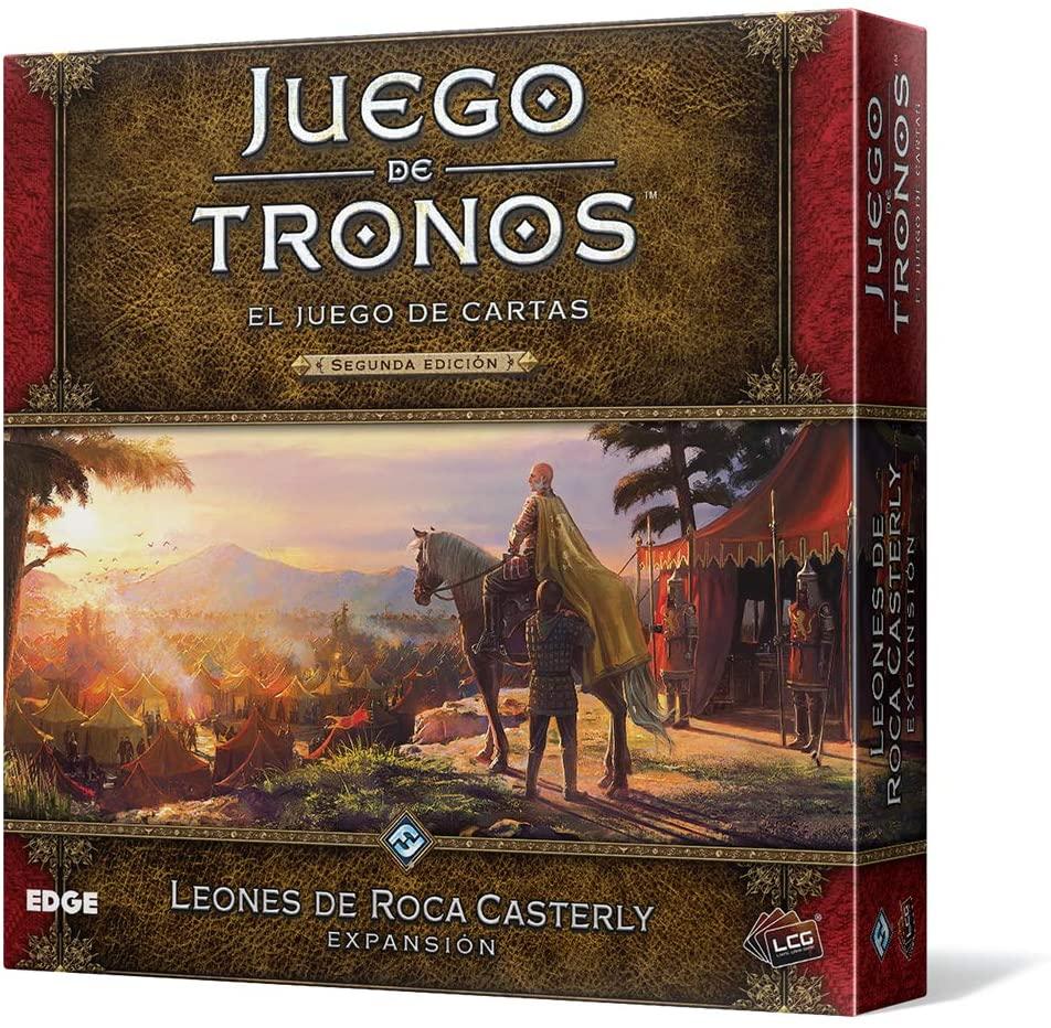 El juego de cartas de Juego de Tronos, expansión Leones de Roca Casterly