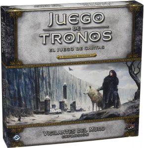 El juego de cartas de Juego de Tronos, expansión Vigilantes del Muro
