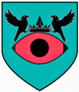 Escudo blasón de Euron Greyjoy, personajes de Juego de Tronos