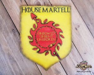 Escudo de la Casa Martell de Juego de Tronos
