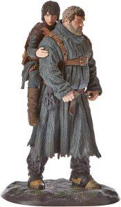 Figura réplica para coleccionistas Bran Stark y Hodor