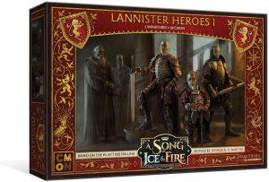 Juego de miniaturas Héroes Lannister I, Canción de Hielo y Fuego, Juego de Tronos