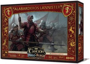 Juego de miniaturas, Alabarderos Lannister, Canción de Hielo y Fuego, Juego de Tronos