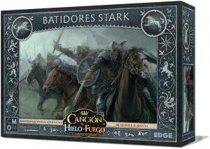 Juego de miniaturas Batidores Stark, Canción de Hielo y Fuego, Juego de Tronos