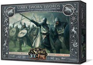 Juego de miniaturas Espadas juramentadas Stark, Canción de Hielo y Fuego, Juego de Tronos