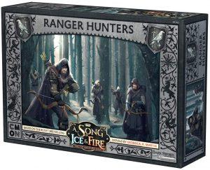 Juego de miniaturas Exploradores cazadores Canción de Hielo y Fuego, Juego de Tronos