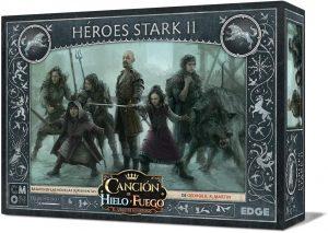 Juego de miniaturas Héroes Stark II, Canción de Hielo y Fuego, Juego de Tronos