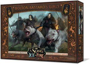 Juego de miniaturas Las chicas del bastardo Bolton, Canción de Hielo y Fuego, Juego de Tronos