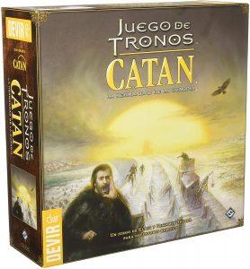 Juegos de mesa de Juego de Tronos, Catán es español