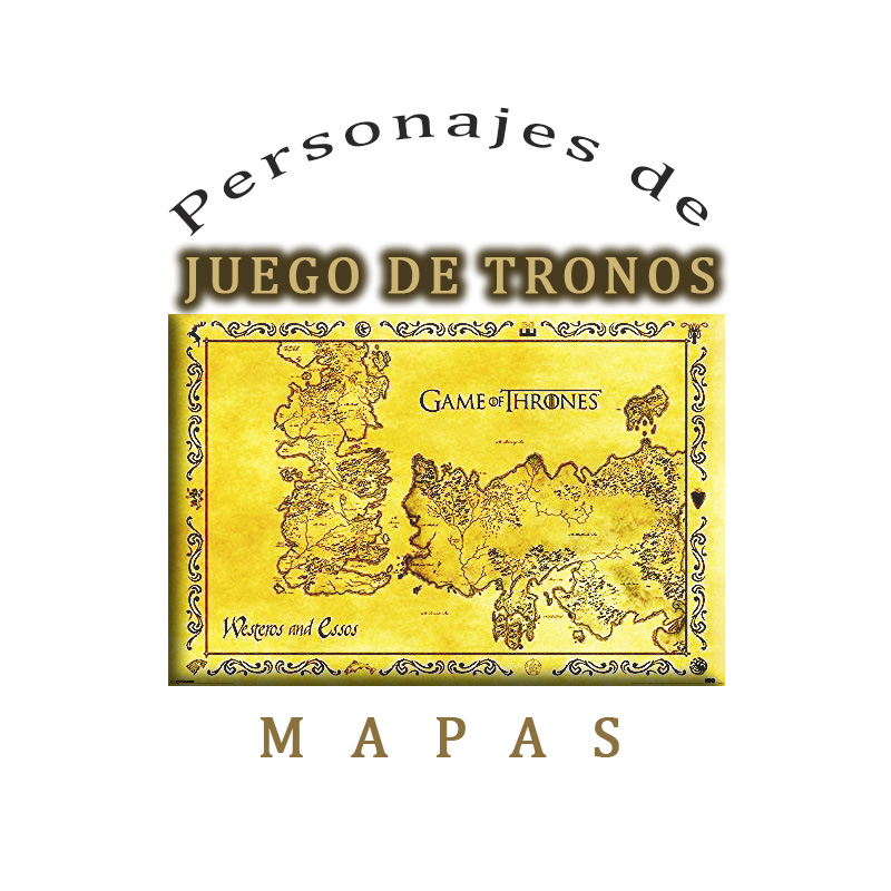 Mapas de Juego de Tronos