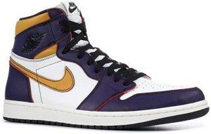 Nike Air Jordan 1 High OG Defiant Lakers Court
