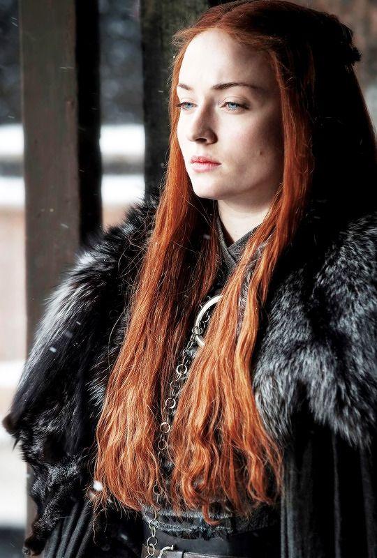 Personaje Sansa Stark hija mayor de Ned y Cat