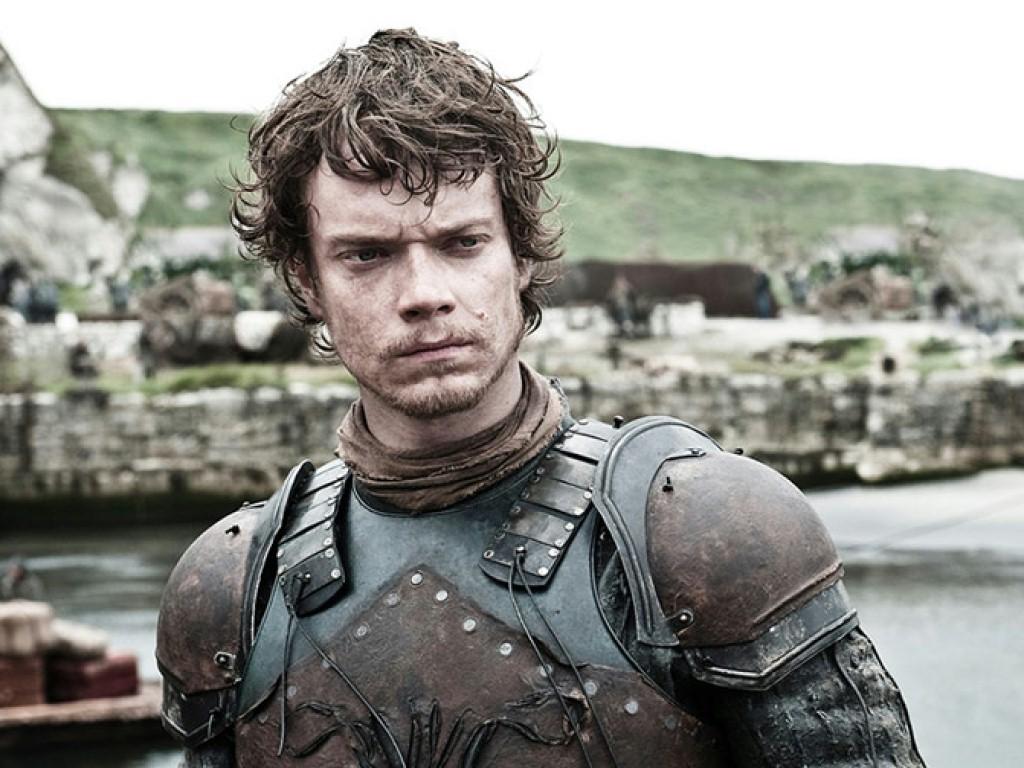 Personajes de Game of Thrones Theon Greyjoy de la Casa Greyjoy