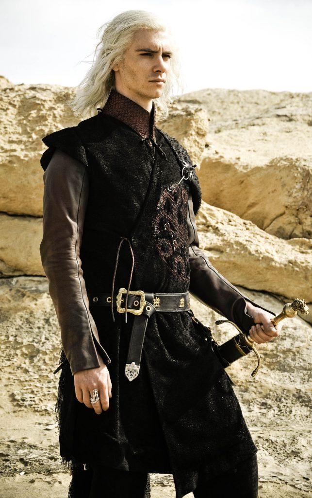 Personajes de Game of Thrones Viserys Targaryen de la Casa Targaryen