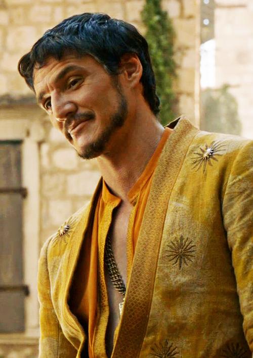 Personajes de Juego de Tronos Oberyn Martell de Lanza del Sol, Casa Martell, Dorne.