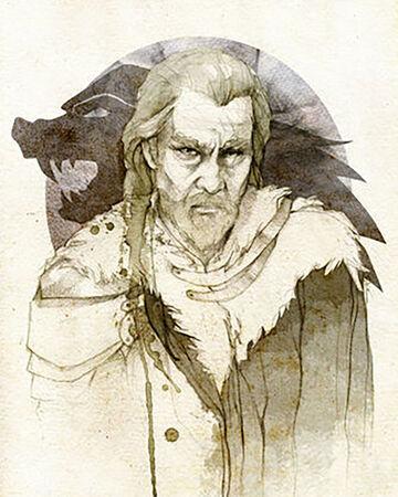 Personajes de Juego de Tronos, Rickard Stark Canción de Hielo y Fuego