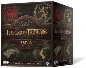 Trivial expansión temporadas 5 a 8 de Juego de Tronos en español