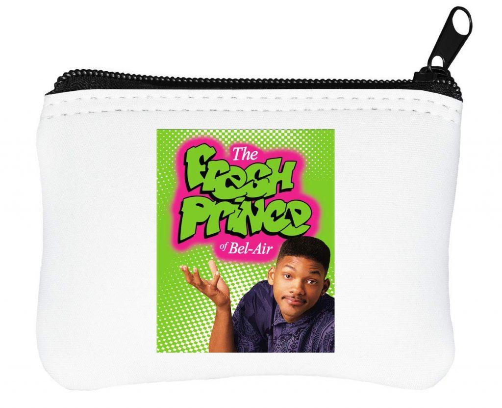 Billetera con cremallera de El Príncipe de Bel Air