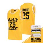 Camiseta El Príncipe de Bel Air, serie protagonizada por Will Smith, incluye pulseras