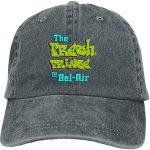 Gorra gris con logo de El Príncipe de Bel Air