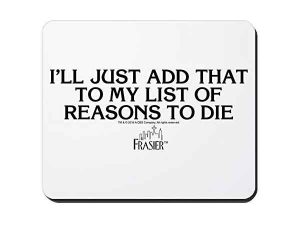 Comprar alfombrillas de ratón de Frasier