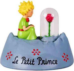 Le Petit Prince, Figura de El Principito y rosa, para coleccionar, Enesco